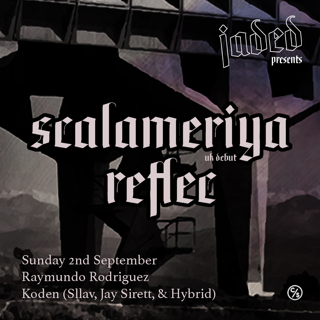 Warning: Scalameriya Makes His UK Debut On Sunday 2nd September