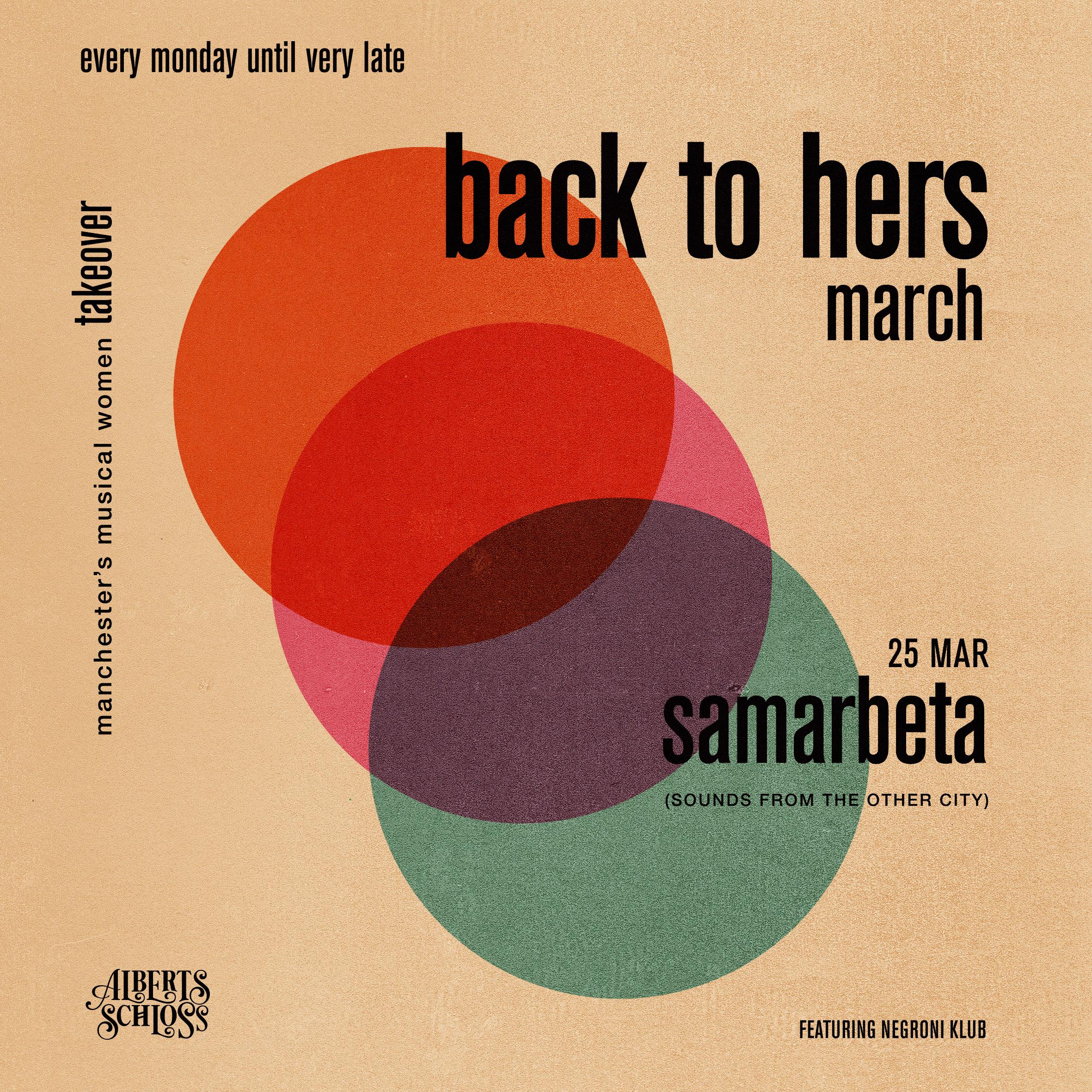 BACK TO MEIN // SAMARBETA
